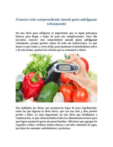 proteinas veggie tales para adelgazar