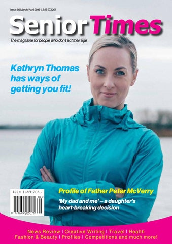 Senior Times Magazine March April 2016 By Senior Times Magazine Issuu