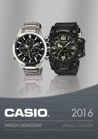 ca57566dfe33 Casio Klokkekatalog 2016 Norge by Casio Scandinavia - issuu