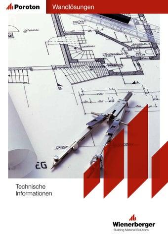 Technische Information Wandlösungen by Wienerberger AG - issuu