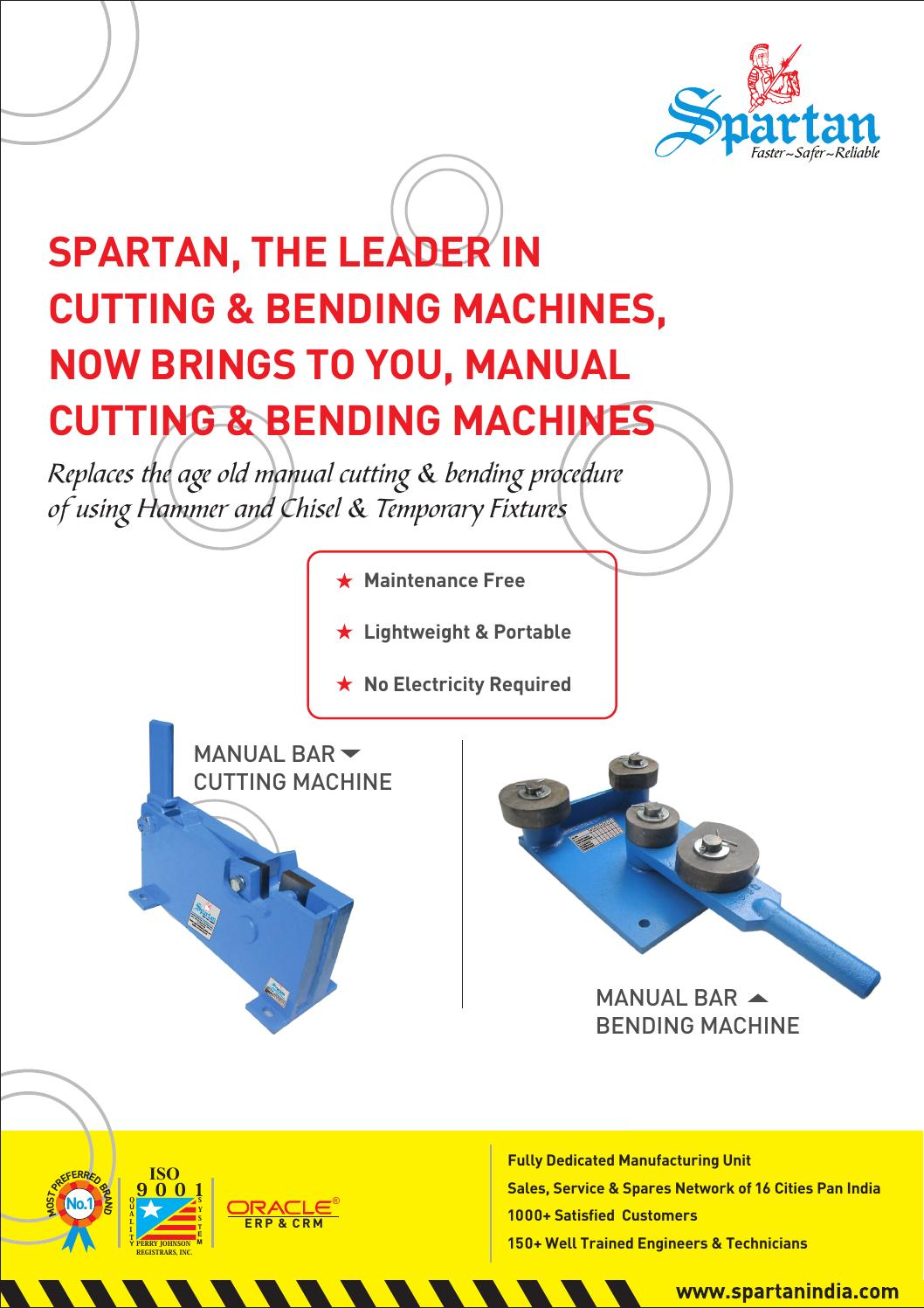 Manual Cutting and Bending - Spartan India by SpartanIndia
