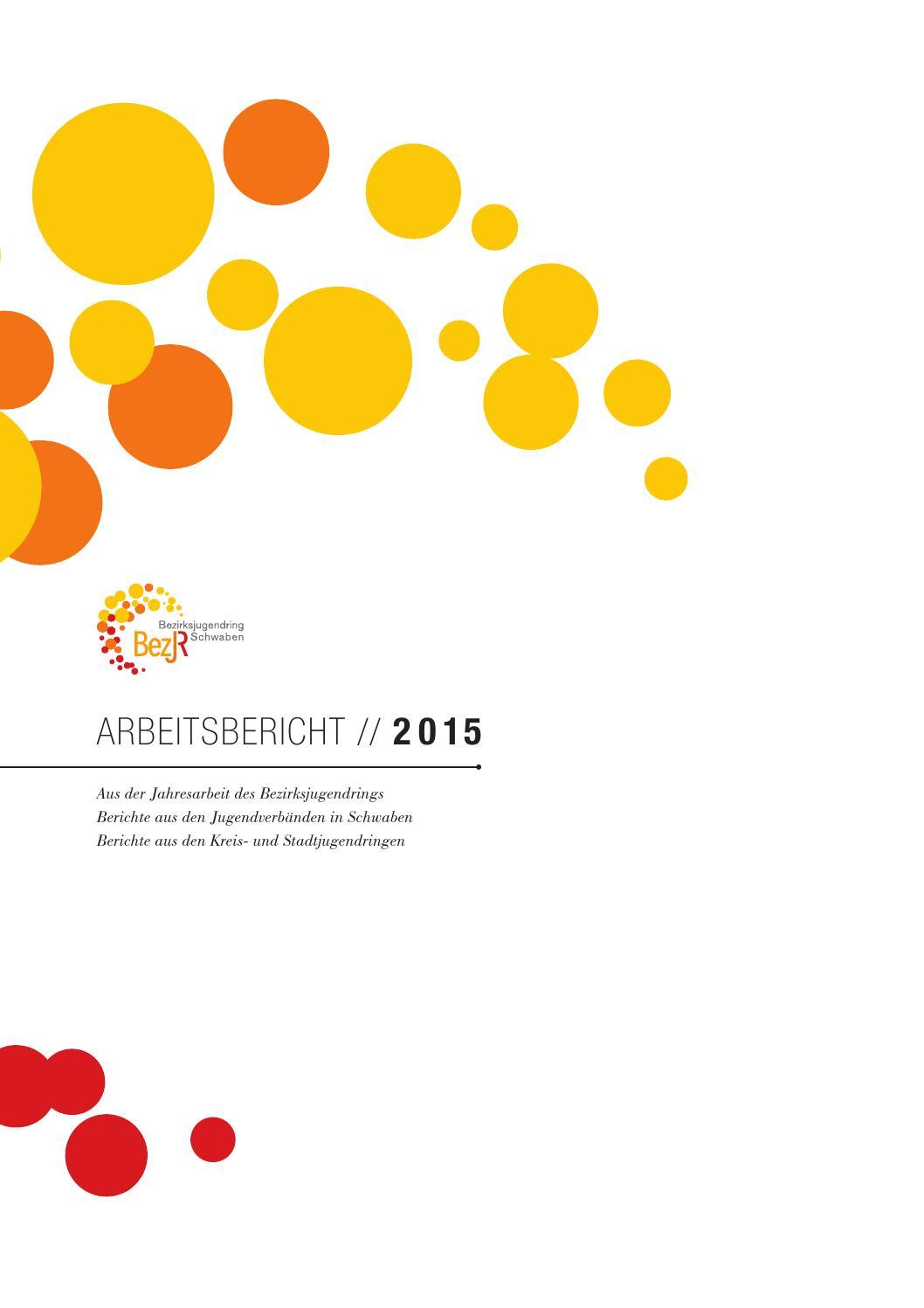 Arbeitsbericht // 2015 // Bezirksjugendring Schwaben by ...