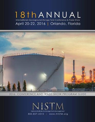 18th Annual International Aboveground Storage Tank