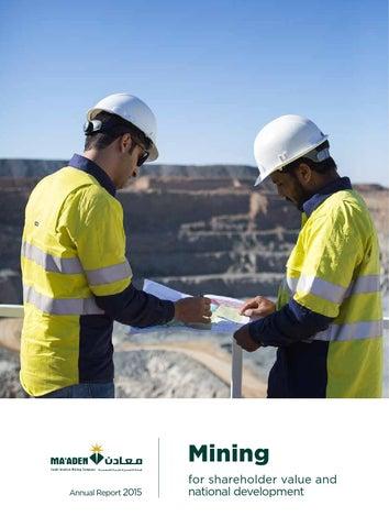 2015 Annual Report - English by Maaden - Saudi Arabian Mining
