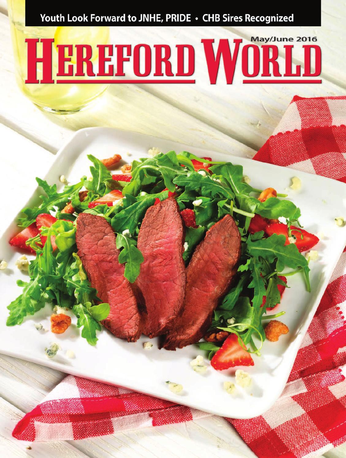 381d949ae May June 2016 Hereford World by American Hereford Association and Hereford  World - issuu