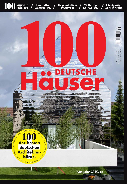 100 deutsche Häuser 2015 by 100 deutsche Häuser - issuu