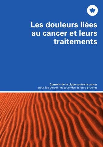 85f390af0fc Les douleurs liées au cancer et leurs traitements by Krebsliga ...