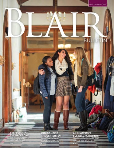 Winter Spring 2016 Bulletin by Blair Academy - issuu 52bfeb1e753c