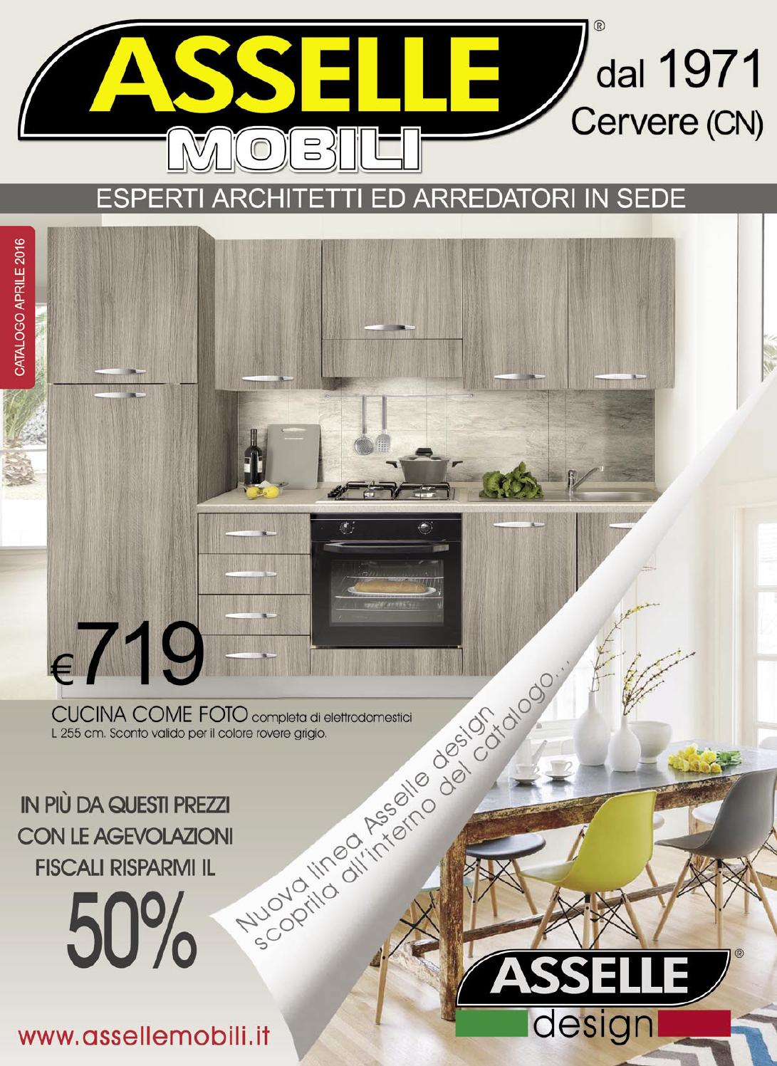 asselle mobili catalogo aprile 2016 by asselle mobili - issuu - Asselle Mobili Cucine