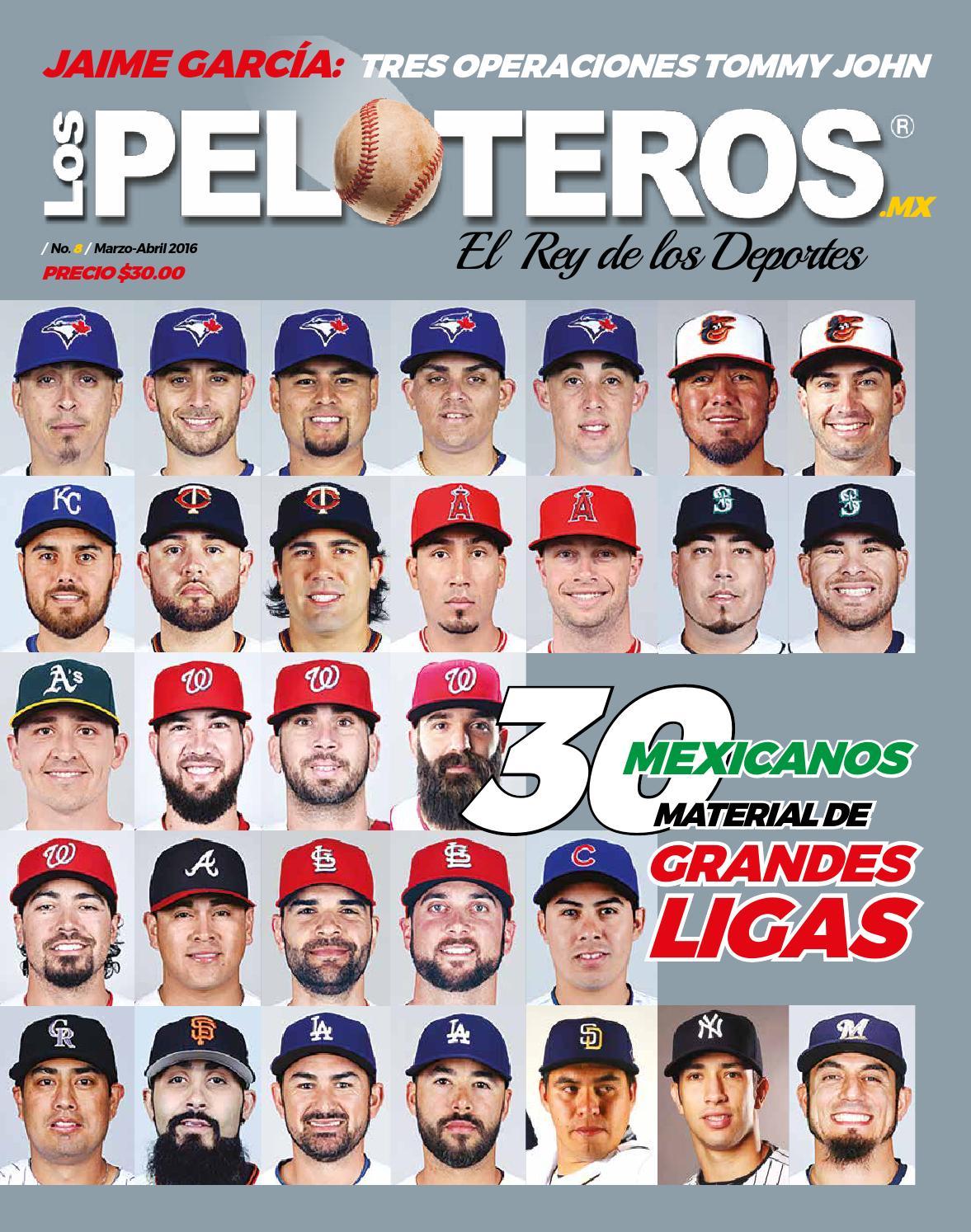 3528af68de4b REVISTA LOS PELOTEROS 8 by Simón Macías Páez - issuu