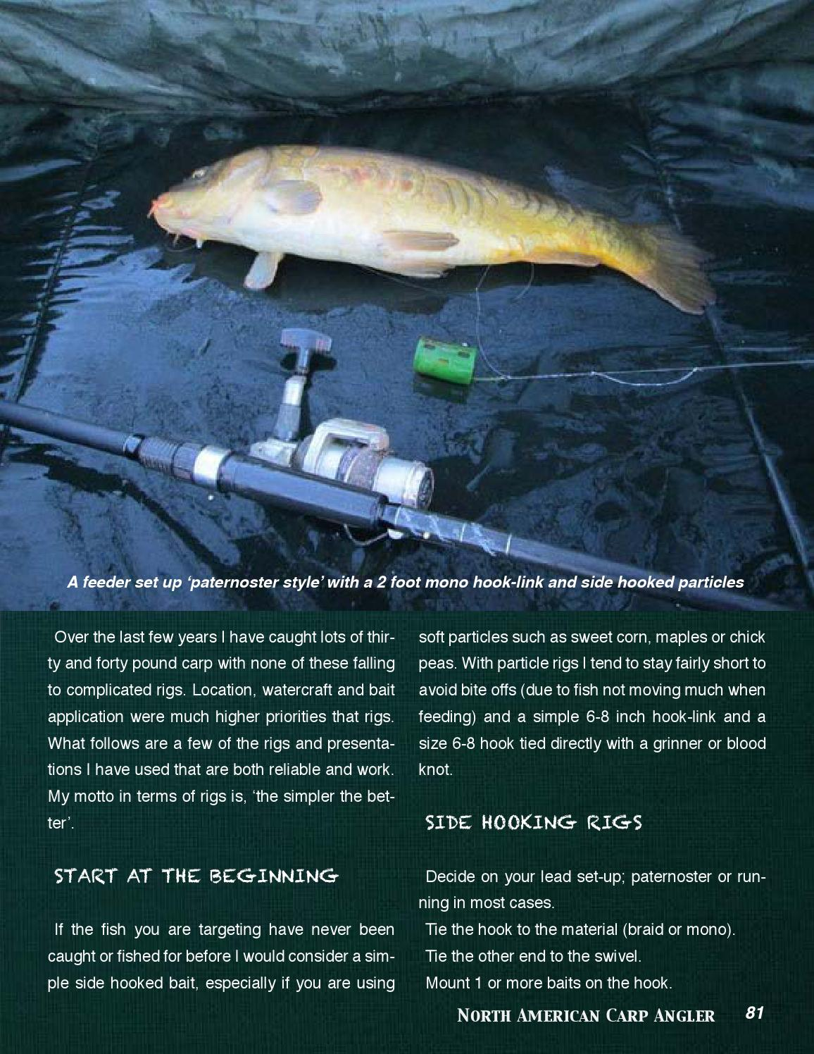 2016 NACA Q1 by North American Carp Angler - issuu