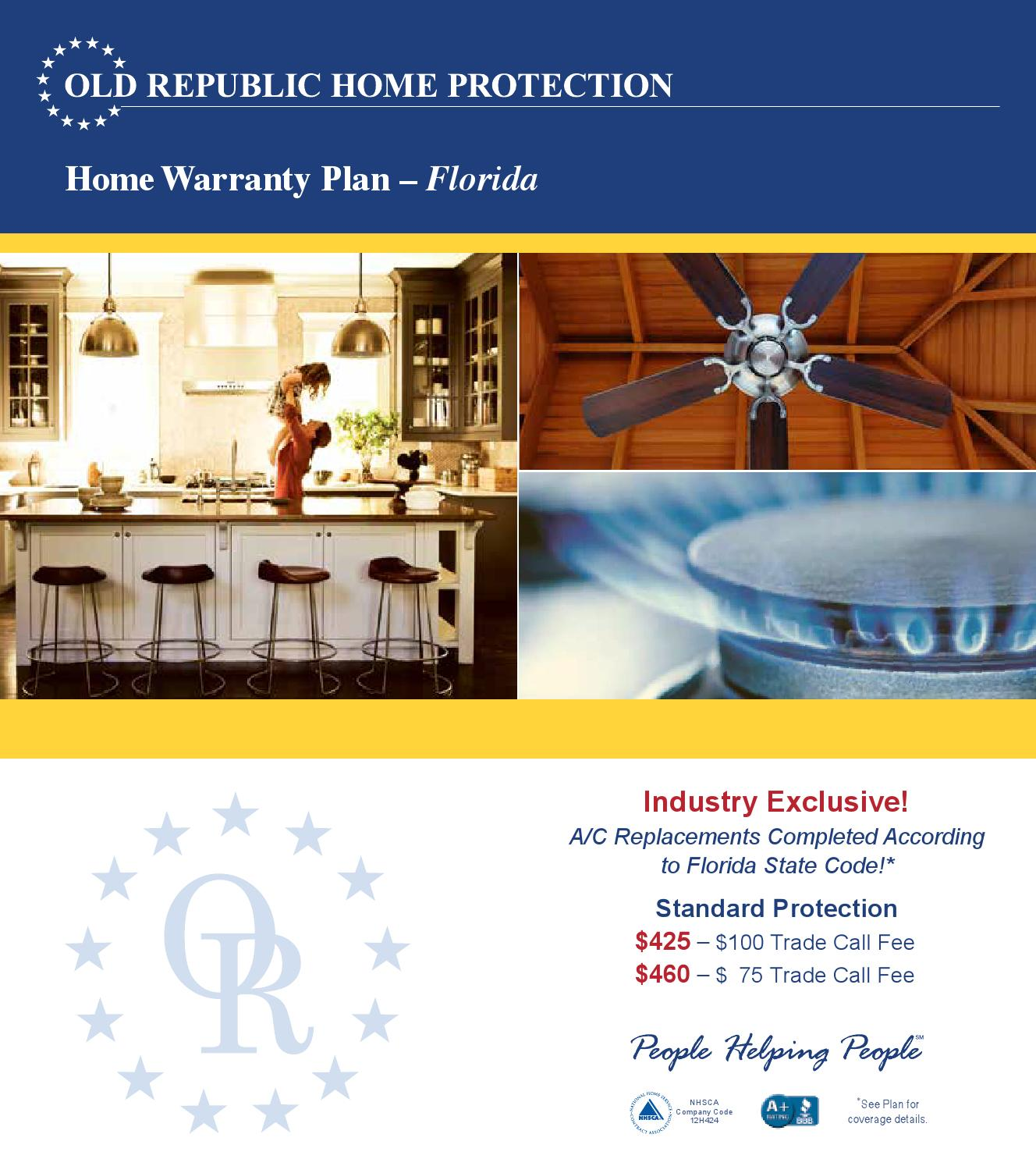 Republic Home Warranty Plans Republic Home Protection