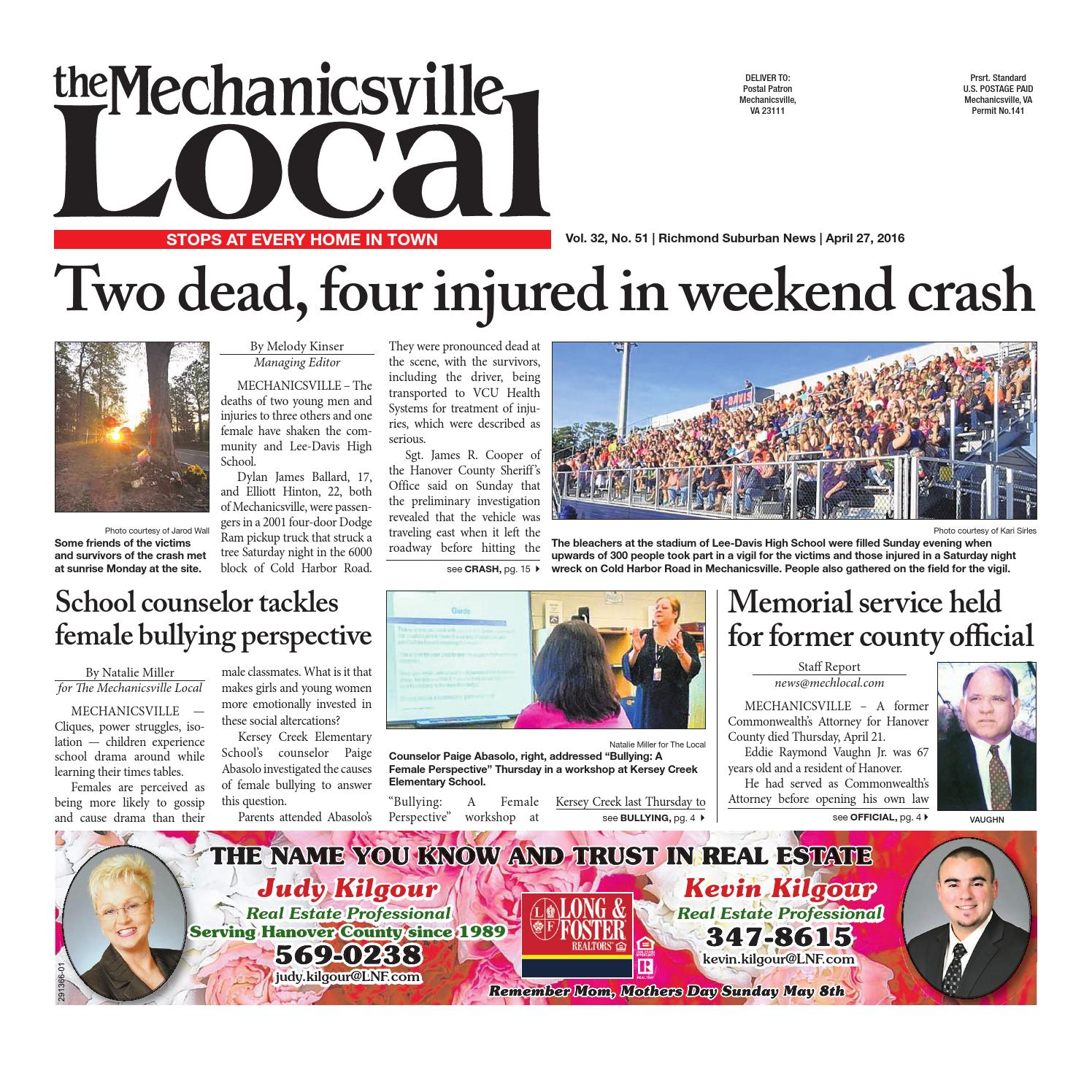 04/27/16 by The Mechanicsville Local - issuu