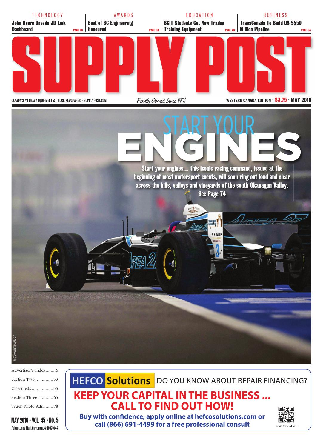 Supply Post West May 2016 By Newspaper