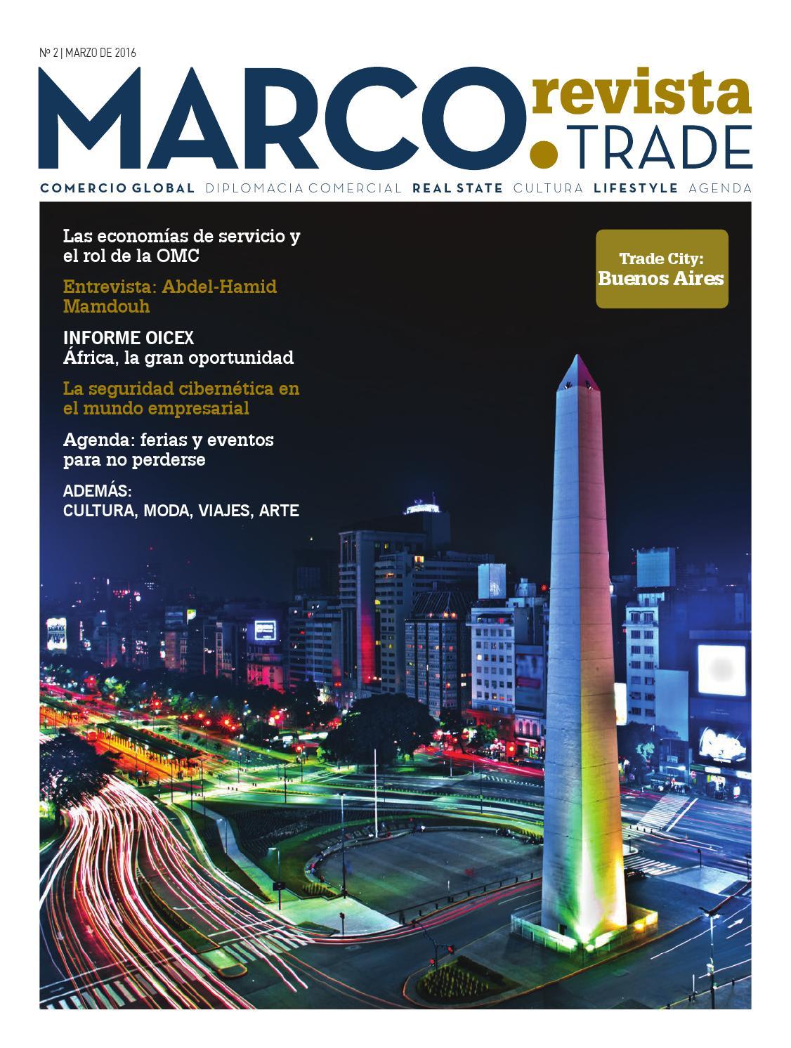 Marco Trade Revista Numero 2 by MARCO TRADE REVISTA - issuu