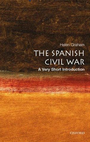 Helen graham the spanish civil war; a very short introduction
