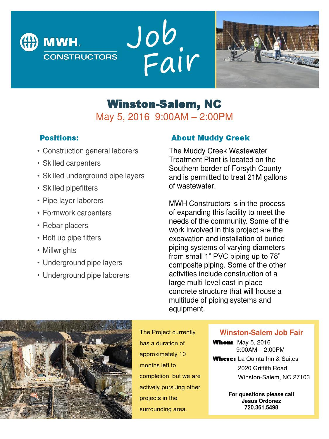 Job Fair for Construction Workers