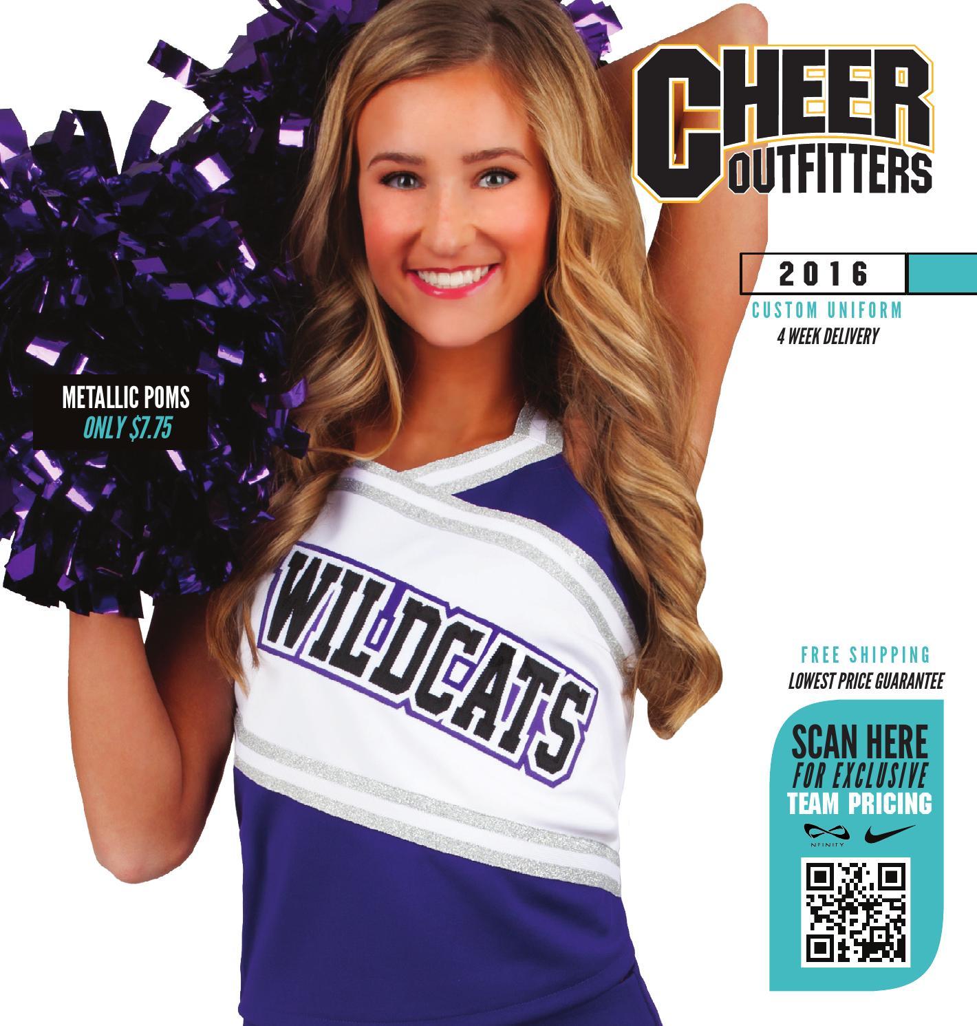 All Star Outfitters Cheerleading Apparel istunt Cheerleader