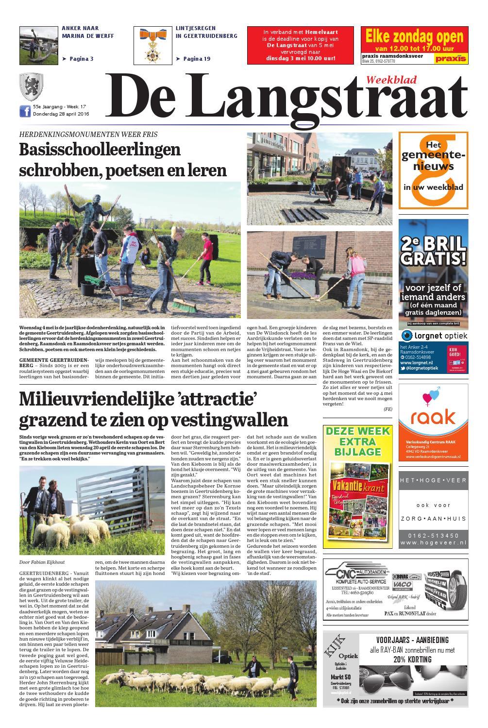 De Langstraat 28 04 2016 By Uitgeverij Em De Jong Issuu