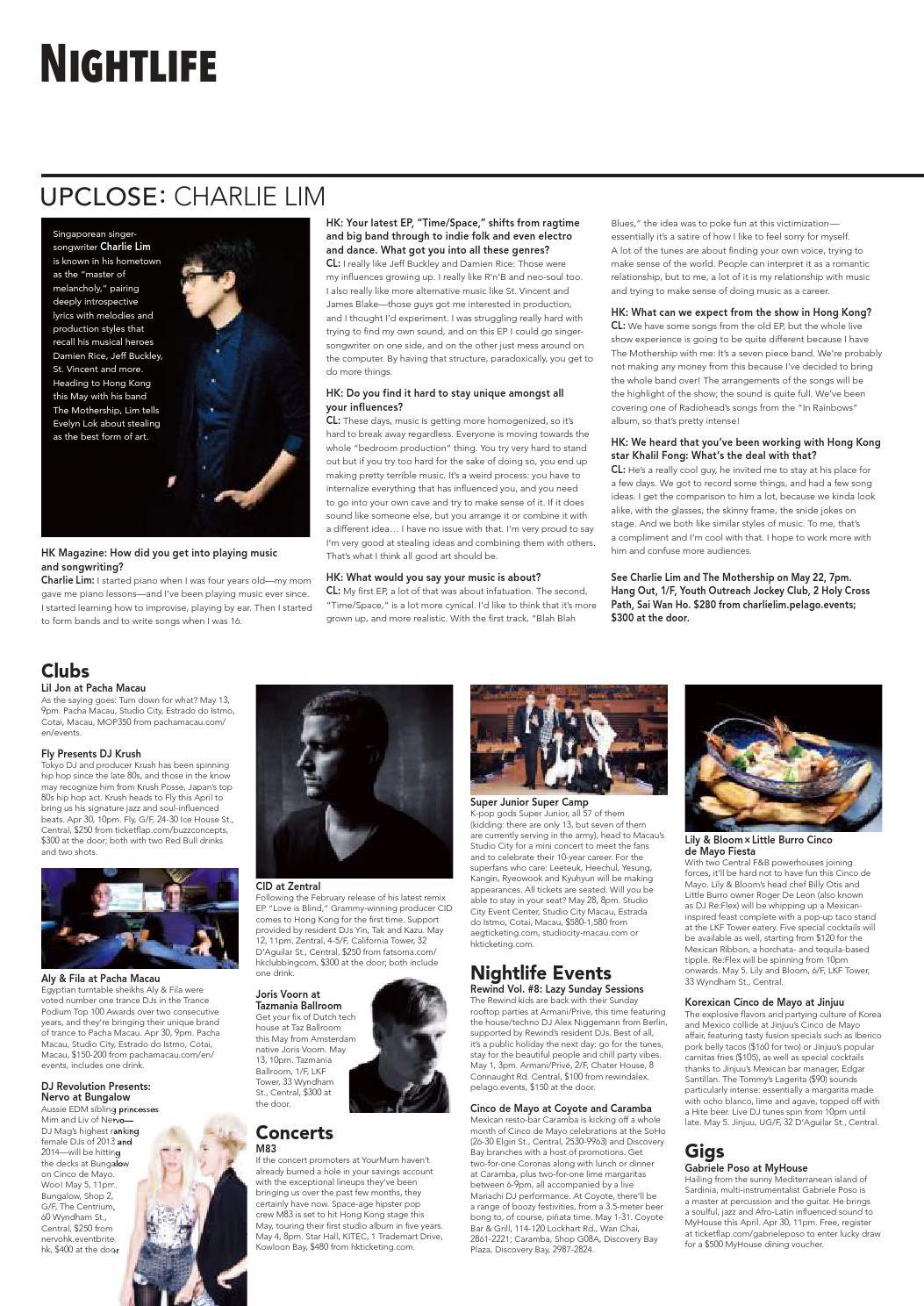 HK Magazine #1143, Apr 29 2016 by HK Magazine - issuu