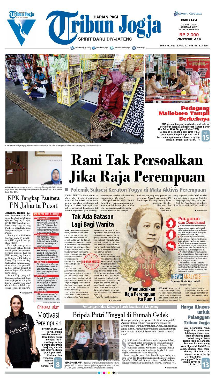 Tribunjogja 13 01 2016 By Tribun Jogja Issuu Fcenter Meja Rias Siantano Mr 905 Jawa Tengahdiyjawa Timur 21 04