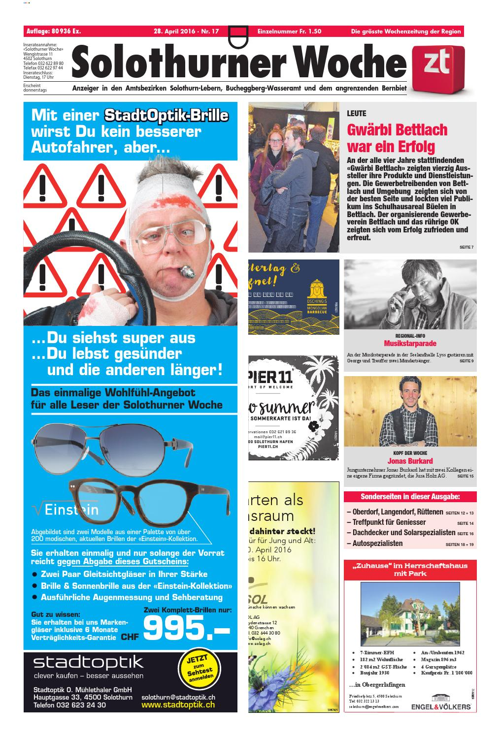 Frauenfelder Woche, Ausgabe KW 03, 15. Januar 2020 by