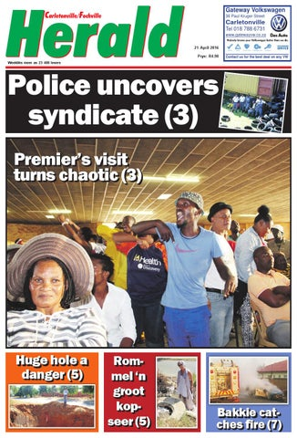 Carletonville Herald 10 March 2016 by Carletonvilleherald - issuu