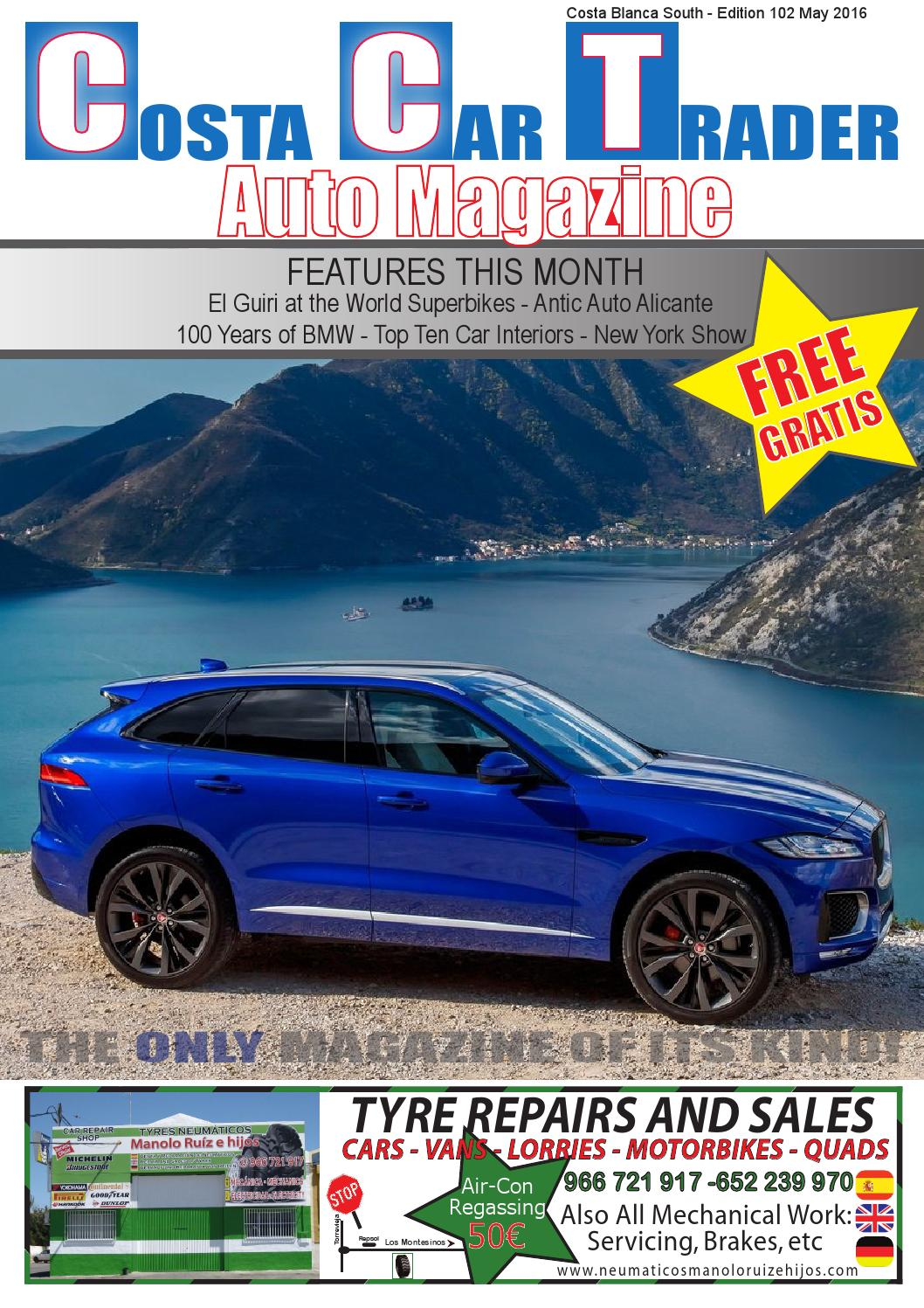 4cb2e73f34 CCT May 2016 by Costa Car Trader - issuu