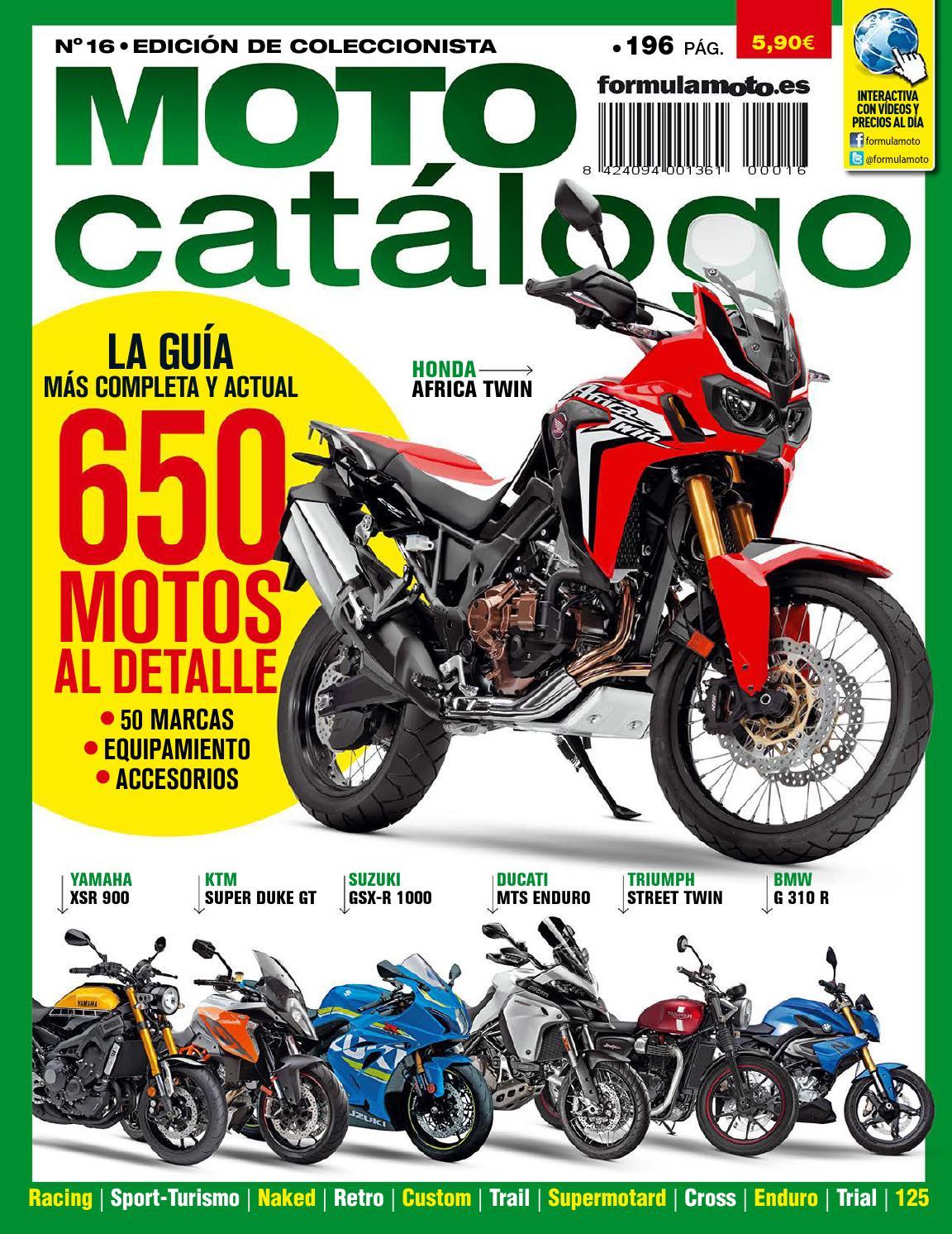 Motocatálogo Nº 16 by LIDER - issuu