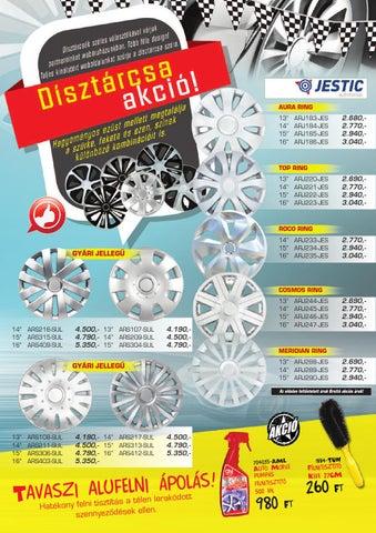 f03133e672 Áprilisi akciós újság by Osz-Car Kft. - issuu