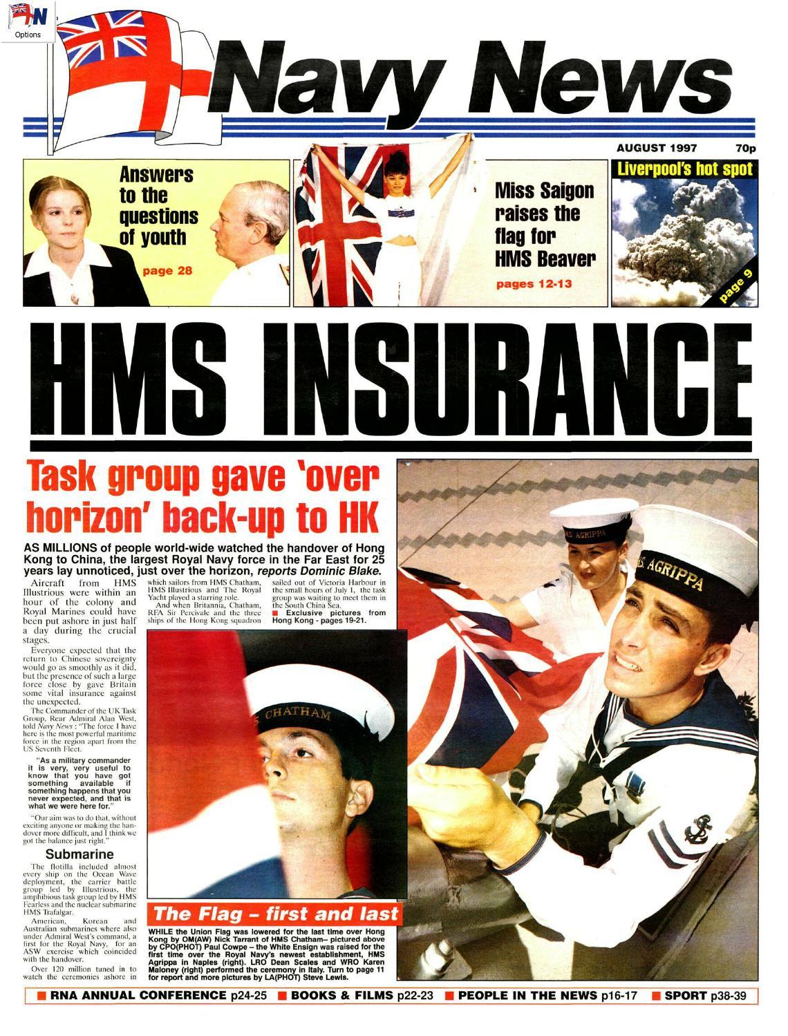 199708 By Navy News Issuu Tendencies Kaos Lost Mom M