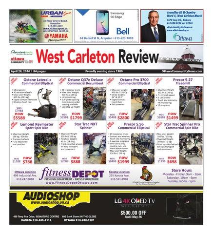 Westcarleton042816 By Metroland East West Carleton Review Issuu