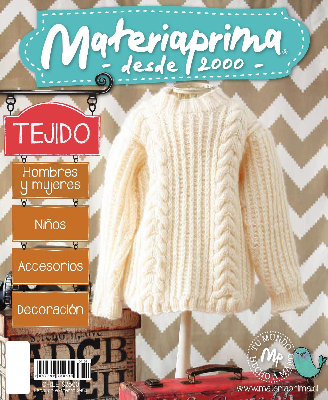 Revista Materiaprima 154, Tejido by Materia Prima - issuu