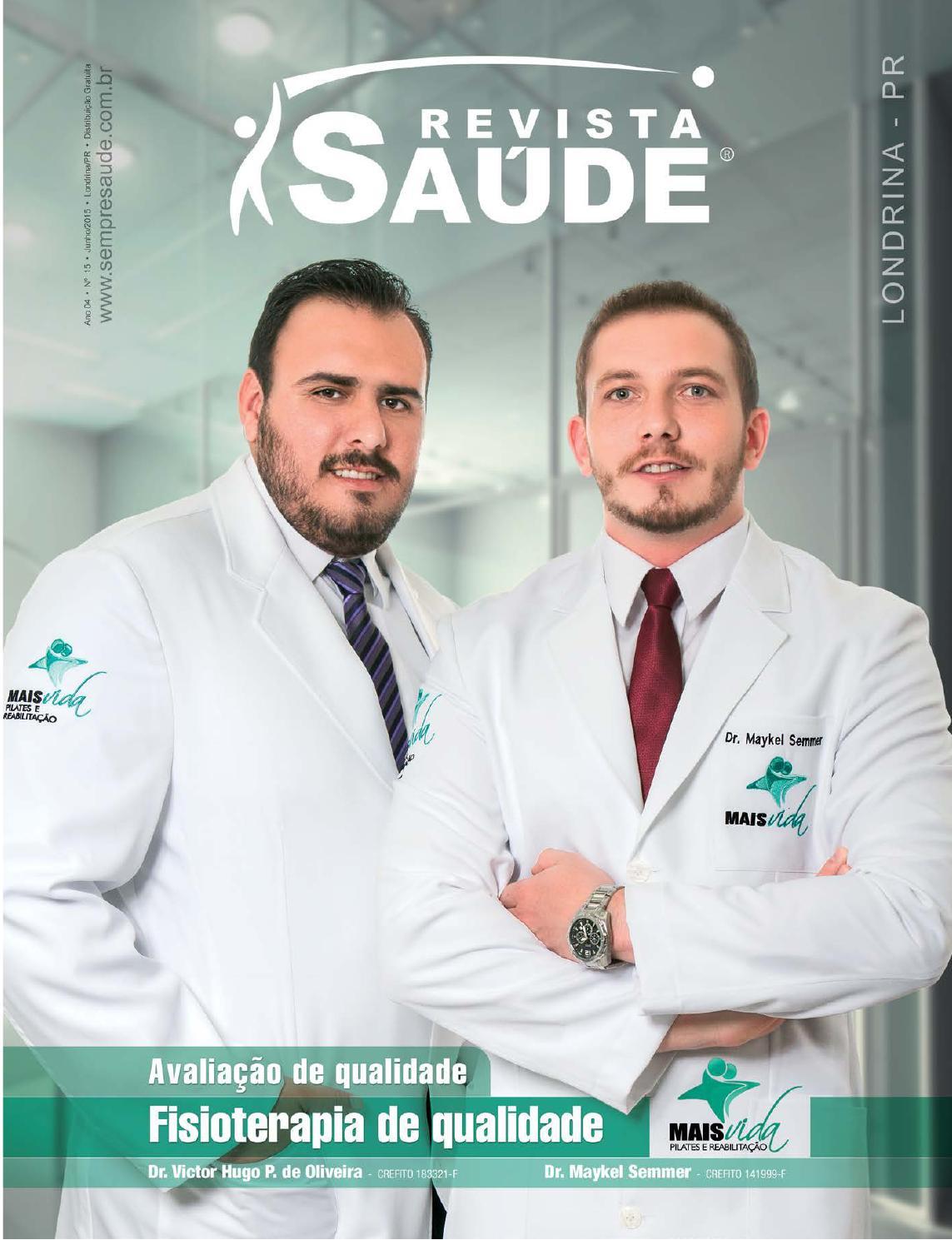 Revista Saúde Londrina PR - Edição 15 - 06 2015 by Revista Saúde - issuu 98709d7217