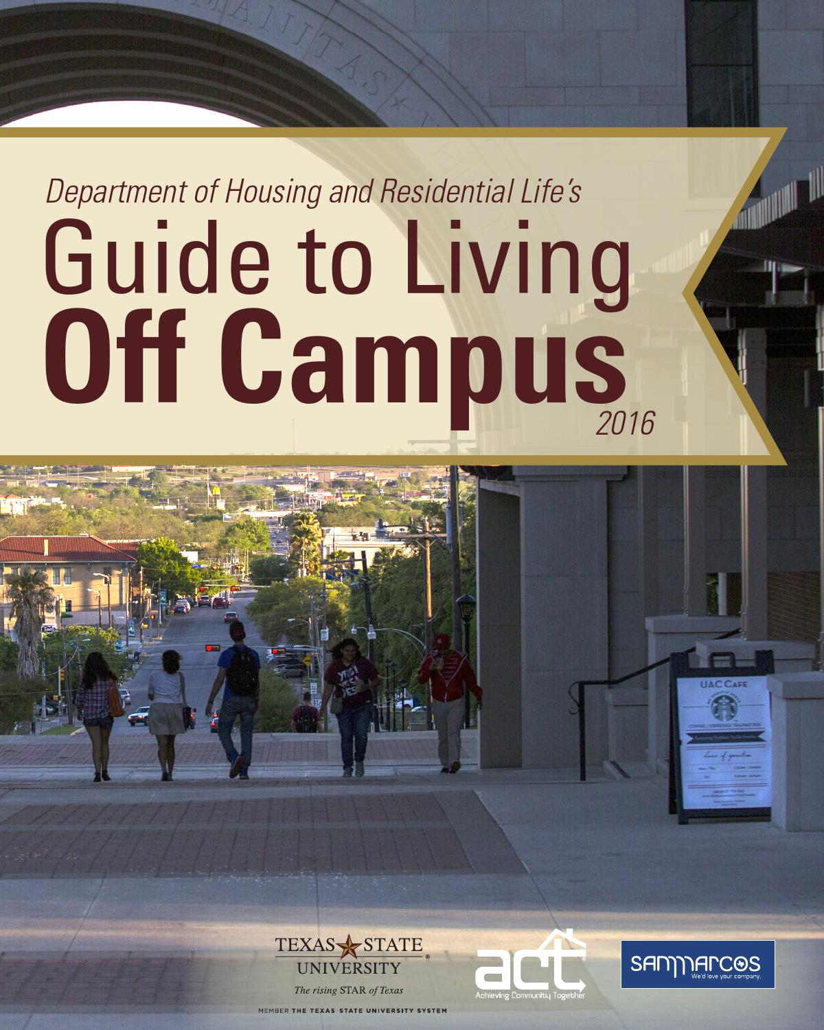Apartment Store State College: 2016 Guide To Living Off Campus By Housing And Residential