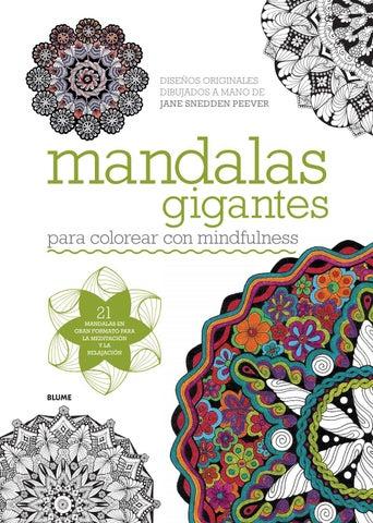 Mandalas gigantes by Editorial Blume - issuu