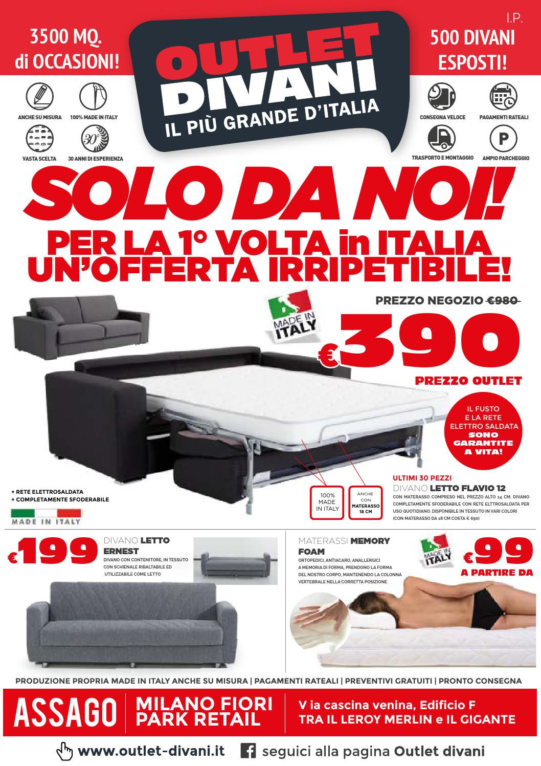 OUTLET DIVANI APRILE-MAGGIO by Pg store - issuu
