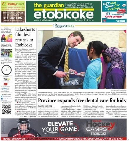 Etobicoke Guardian, South, April 28, 2016 by The Etobicoke