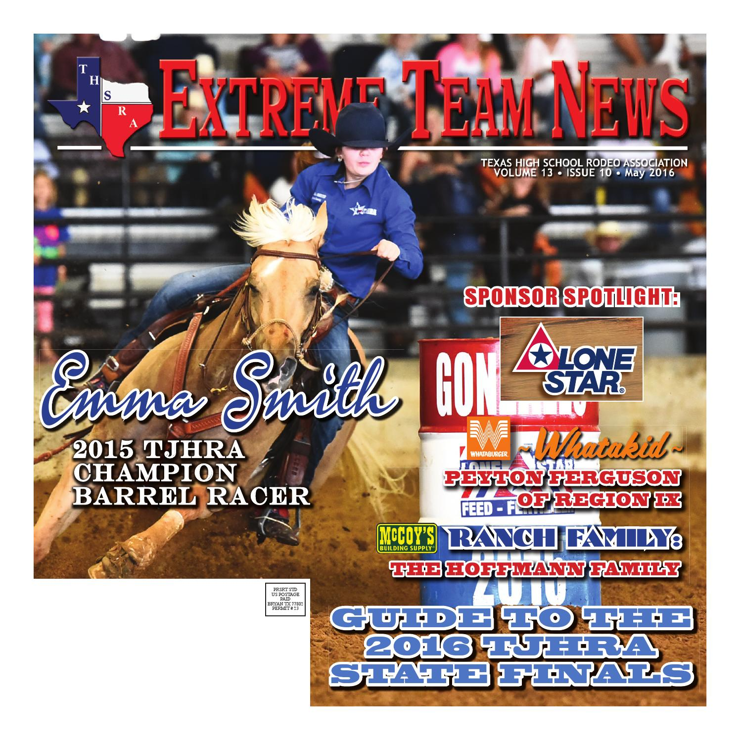 May 2016 Extreme Team News Official News Of Texas High