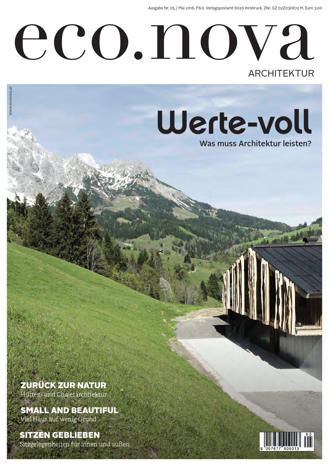 Eco.nova SPEZIAL Architektur 2016 By Eco.nova Verlags Gmbh   Issuu