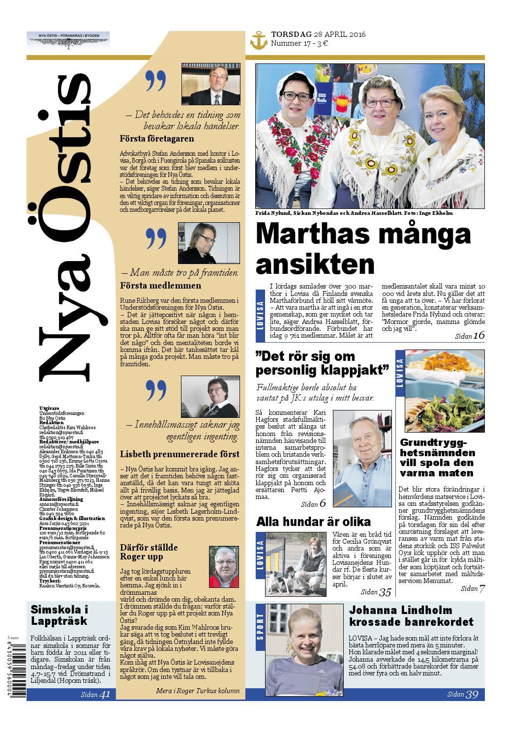 Nya Östis 28.4.2016 by Nya Östis - issuu feec9cd102443