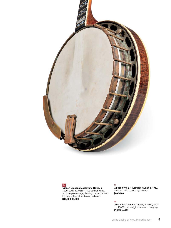 Fine Musical Instruments | Skinner Auction 2892B by Skinner