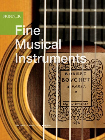 Fine Musical Instruments | Skinner Auction 2892B by Skinner, Inc