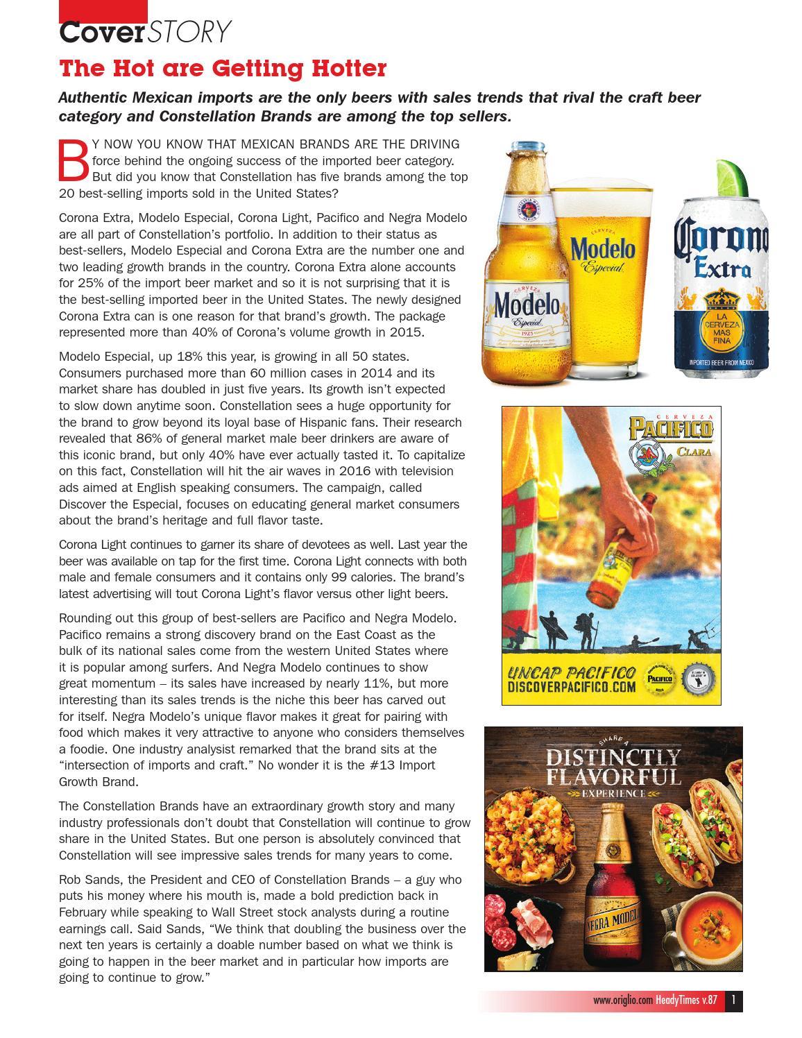corona flavored beer calories