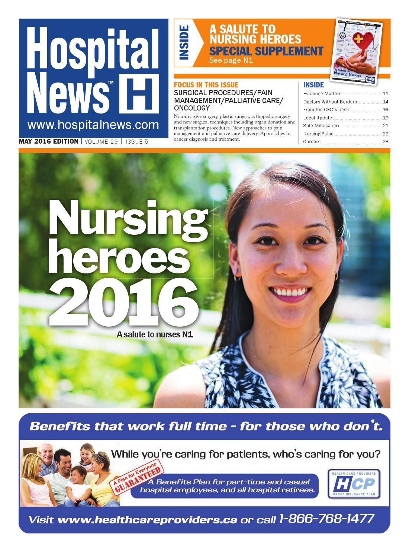 Hospital News 2016 May Edition by Hospital News - issuu f4d41c12a
