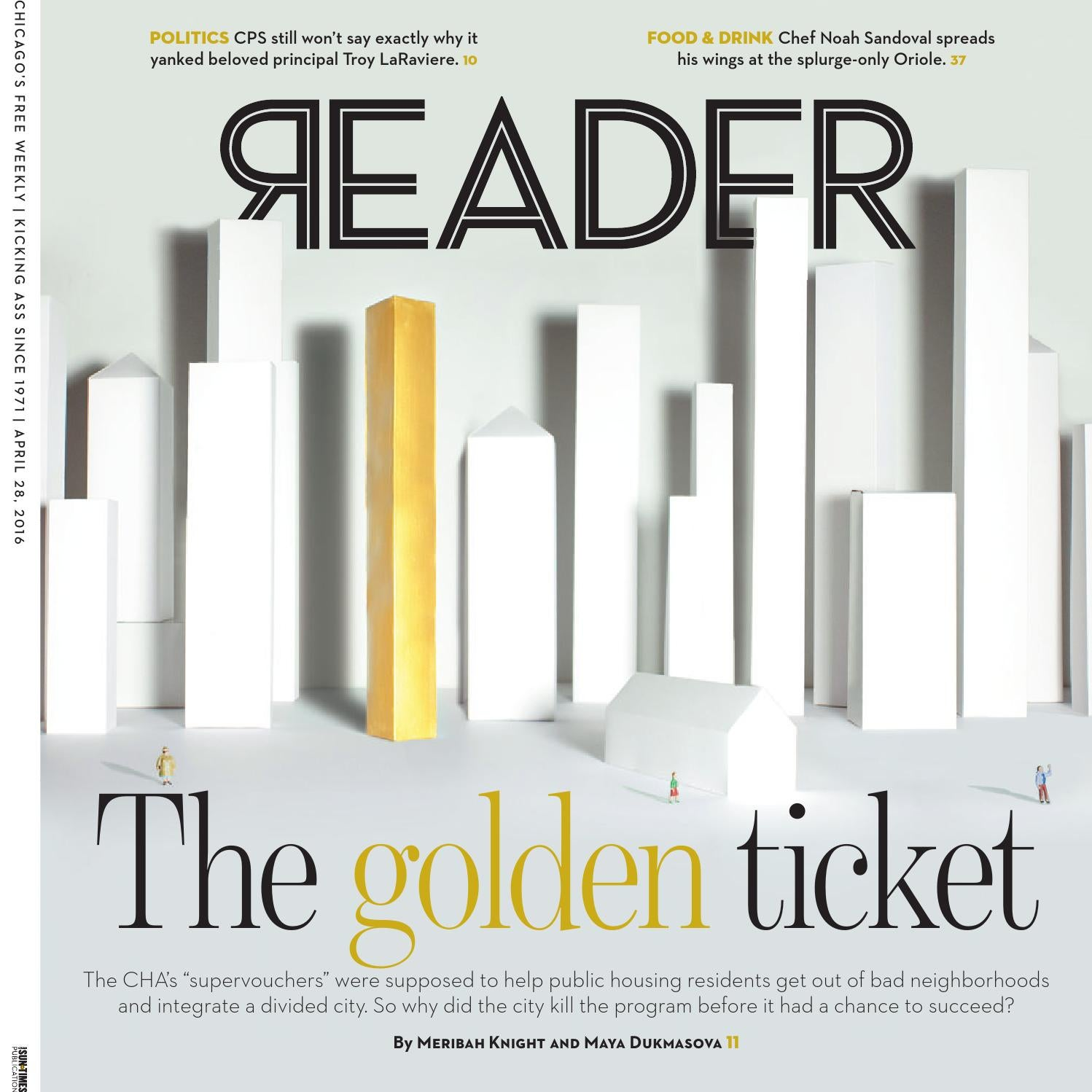Chicago Reader Print Issue Of April 28 2016 Volume 45 Number  # Lorena Alinea Guide