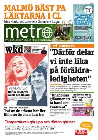 half off 7aad5 18a92 20160429 se stockholm by Metro Sweden - issuu