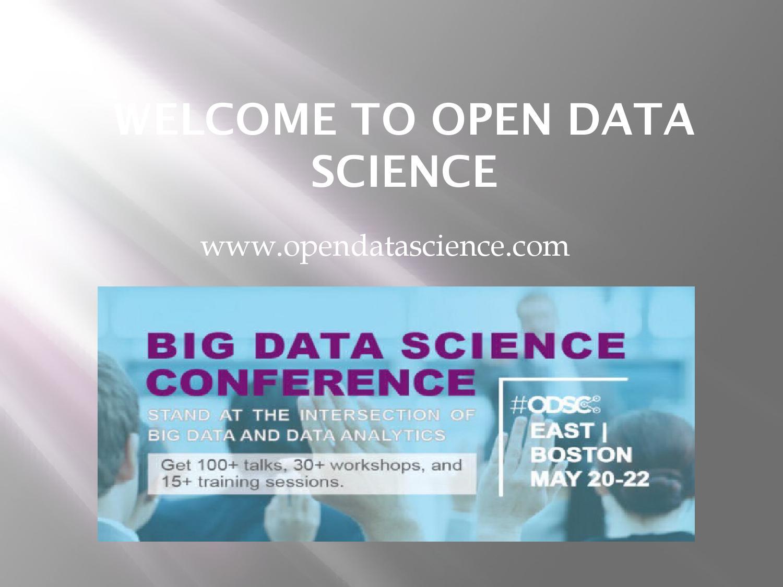 Open Data Science, Deep Learning, Artificial Intelligence