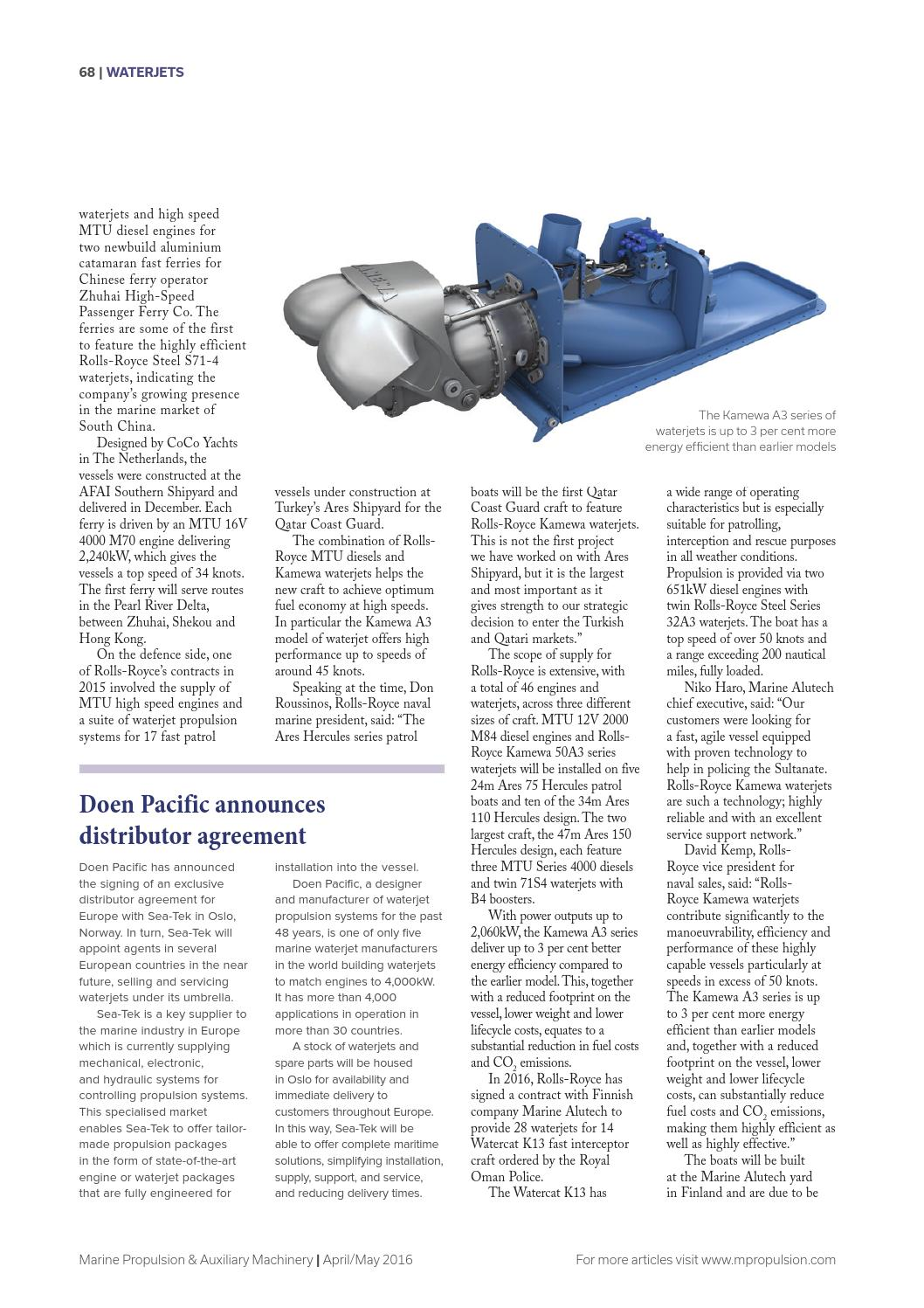 Marine Propulsion & Auxiliary Machinery Apr-May16 by