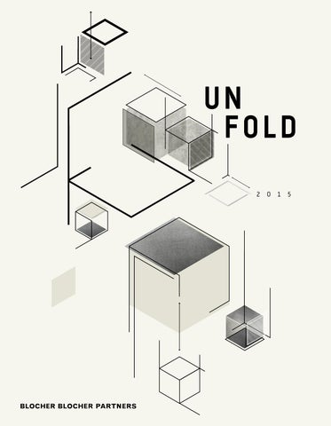UNFOLD Blocher Blocher Partners 2015 by typenraum issuu